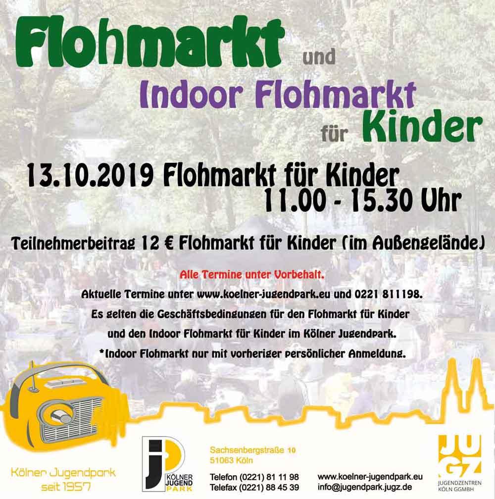 Jugendpark Köln Flohmarkt